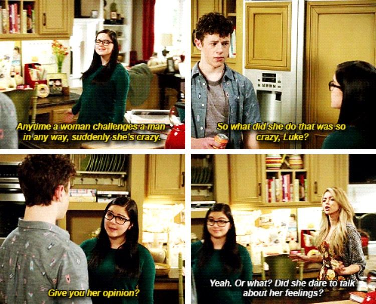 Give You Her Opinion Alex Luke And Haley Modernfamily Modern Family Tv Show Modern Family Funny Modern Family