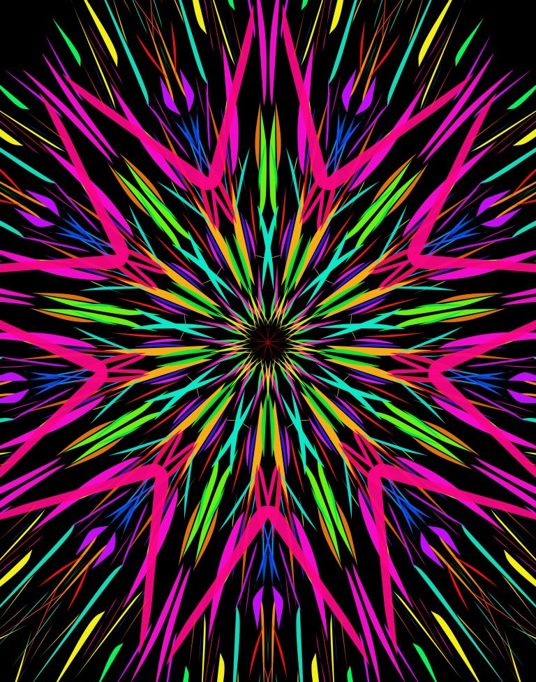 I Made This Painting With Kaleidoscope Drawing Pad On Ipad