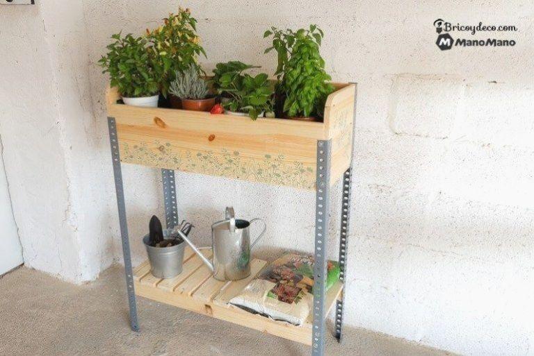 Wie Man Ein Hochbeet Selbst Baut Die Manowerker In 2020 Haus Deko Selber Bauen Hochbeet