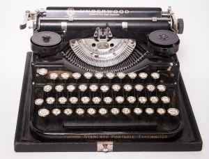 Màquina d'escriure.