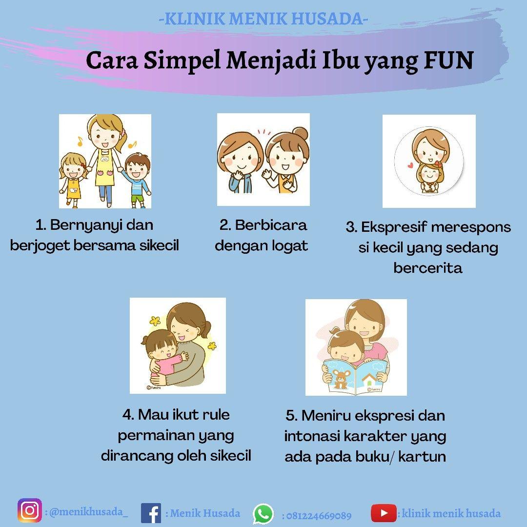 Cara Simpel Menjadi Ibu Yang Fun Buku Menjadi Ibu Kartun