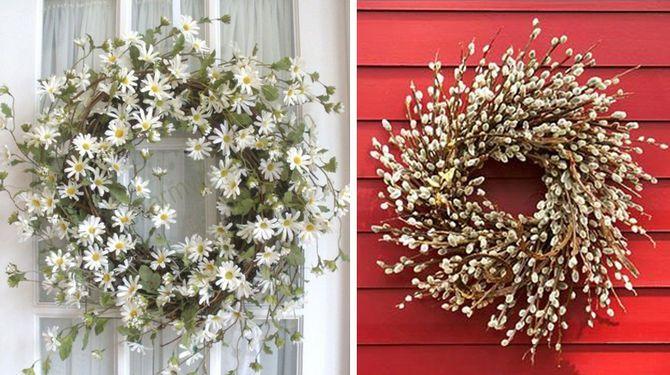 Jar treba privítať venčekom na dverách