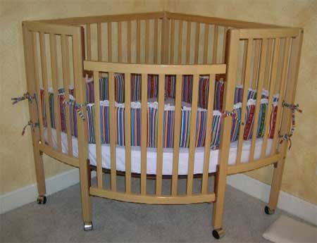 The Corner Crib Cribs For Twins Pinterest Space