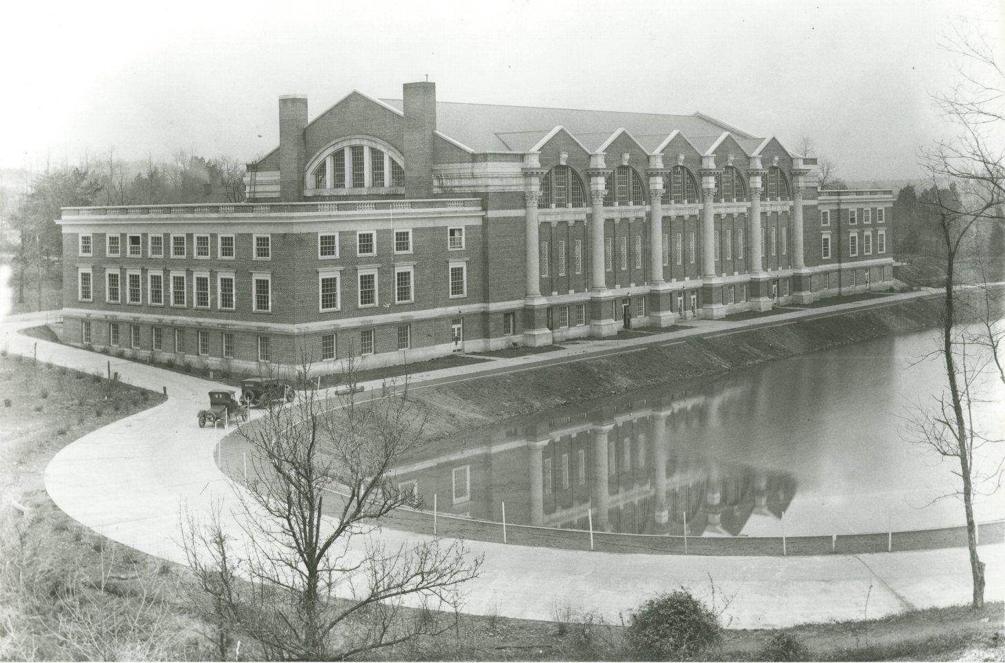 Memorial Gymnasium from University of Virginia Visual