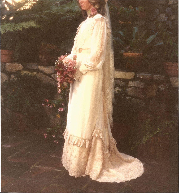 Edwardian wedding dress  Romantic Edwardian Wedding Gown  Step back in time array of