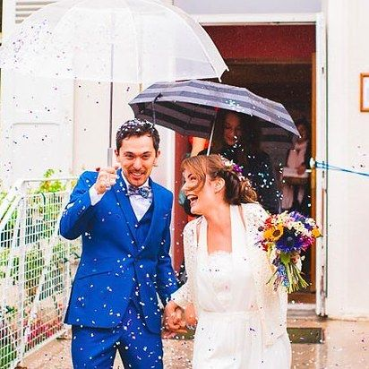 Modern weddings are edgy, fun, and full of color.