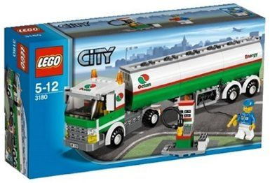 mat every day vase  LEGO City 3180 - Autocisterna: Amazon.it: Giochi e giocattoli   Lego city,  Idee lego, Lego