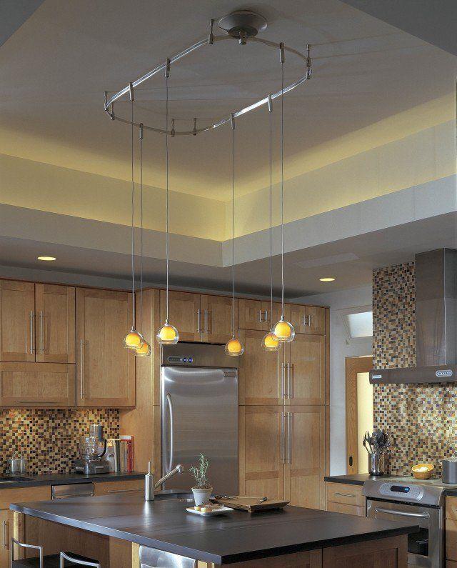 luminaire cuisine suspendu 30 id es l gantes et pratiques acier inox inox et acier. Black Bedroom Furniture Sets. Home Design Ideas