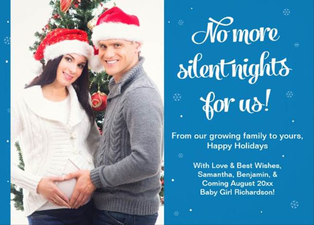 20 Ways to Announce Your Pregnancy During the Holidays via Brit + ...