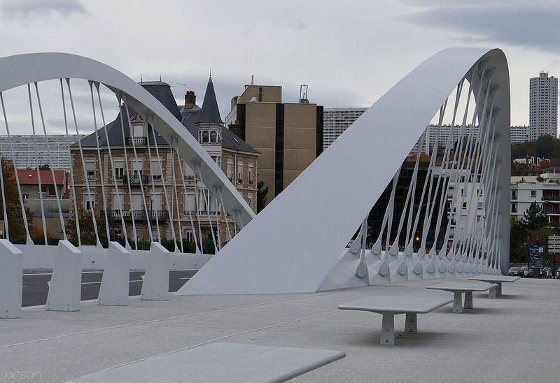 Pont Schuman, Lyon, by larsen & co