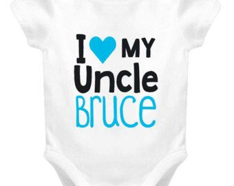 I love my uncle personalized baby one piece custom baby clothing i love my uncle personalized baby one piece custom baby clothing gift from uncle baby negle Choice Image