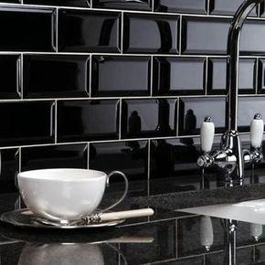 Carrelage Métro Blanc Ou Noir On Aime Les Deux Cuisine And Deco - Credence carrelage metro pour idees de deco de cuisine