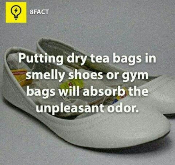 Tip for smelly shoes