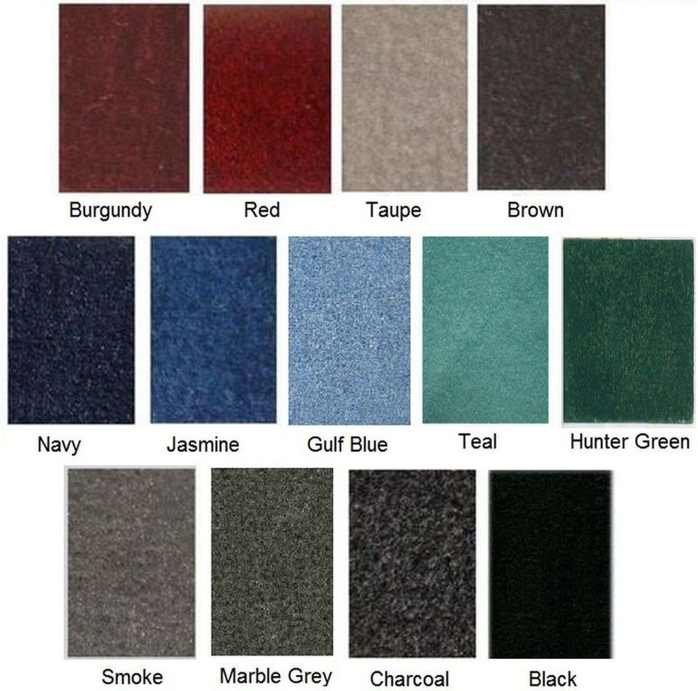 20 OZ Cutpile BOAT BASS BOAT CARPET COLOR OF YOUR CHOICE | Boat ...