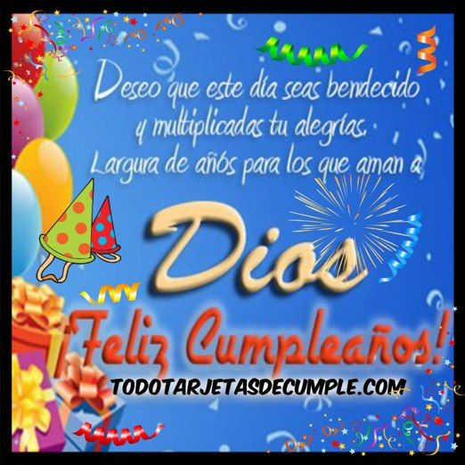 imagenes de cumpleaños cristianas deseo que este dia seas bendecido tarjetas de cumpleaños