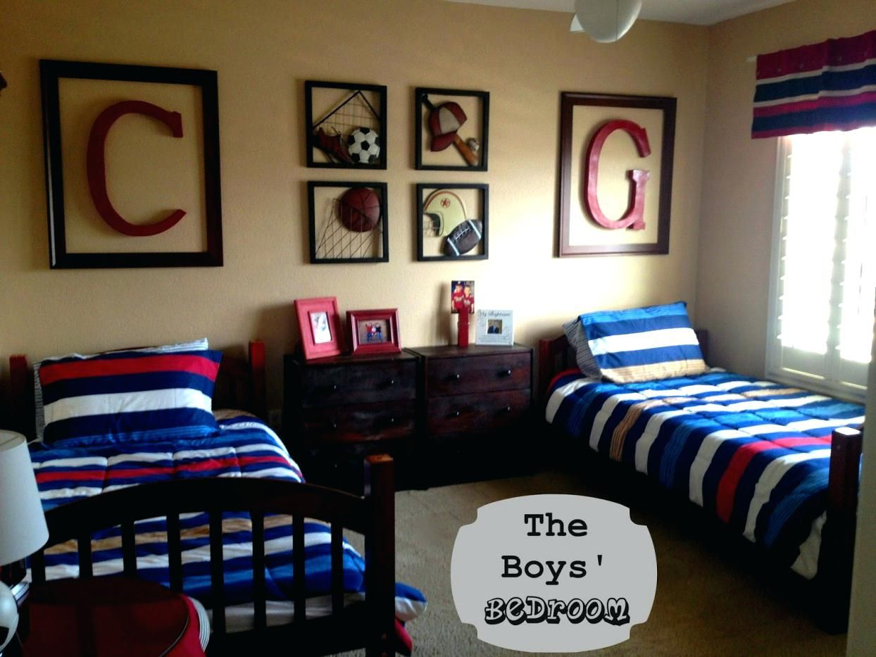 10 Bengals Bedroom Ideas Most Of The Incredible And Lovely Cool Dorm Rooms Small Boys Bedrooms Sports Themed Bedroom