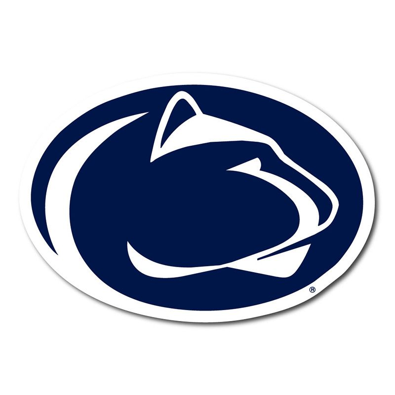 """More Colors! Penn State Nittany Lions Logo Vinyl Decal Sticker 4/"""" and Up"""