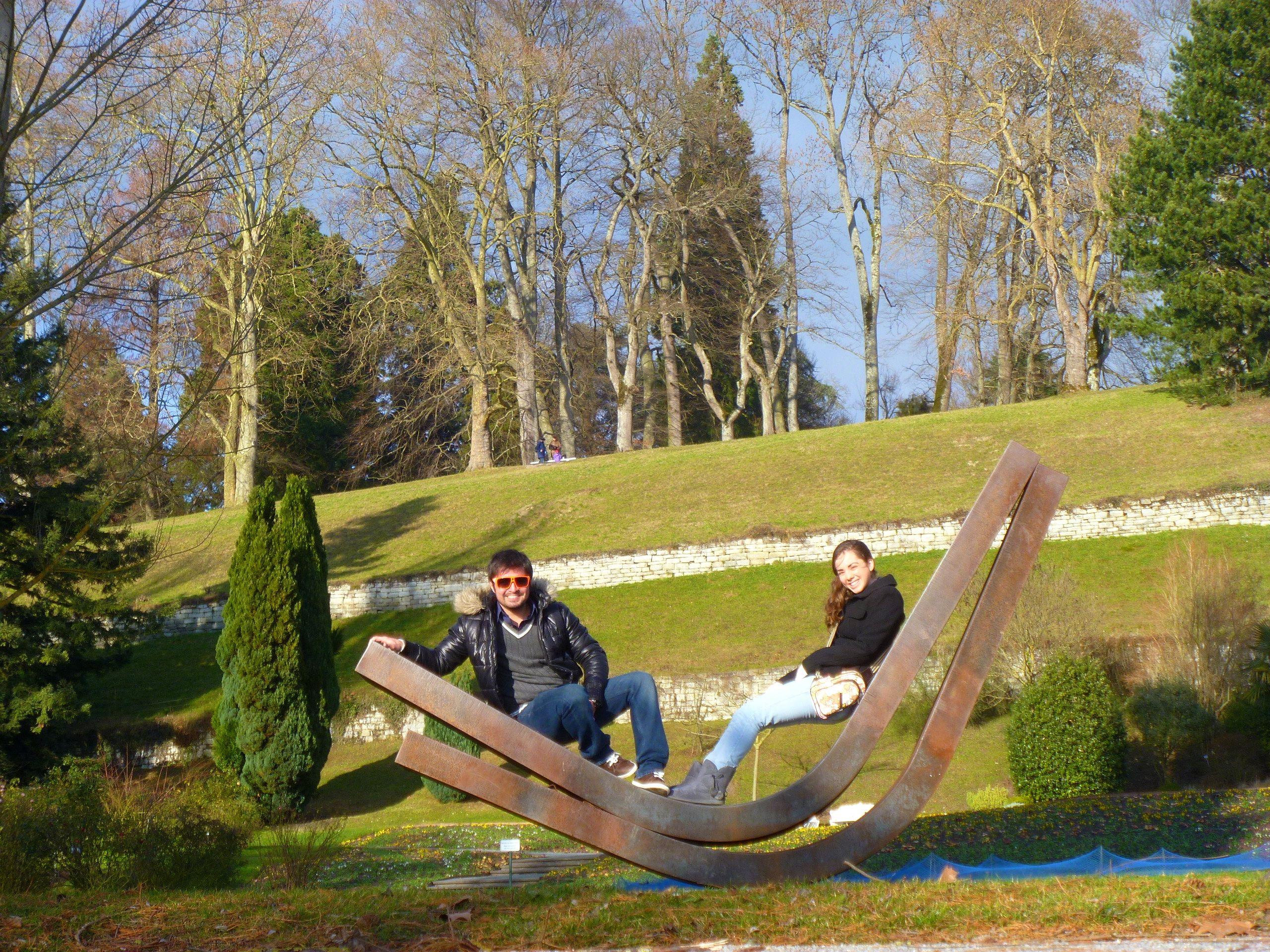 Insel Maunau , Konstanz (alemania) Mi novia y yo :P !