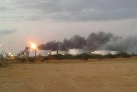 Foto Se registró un incendio en una destiladora de Amuay esta mañana