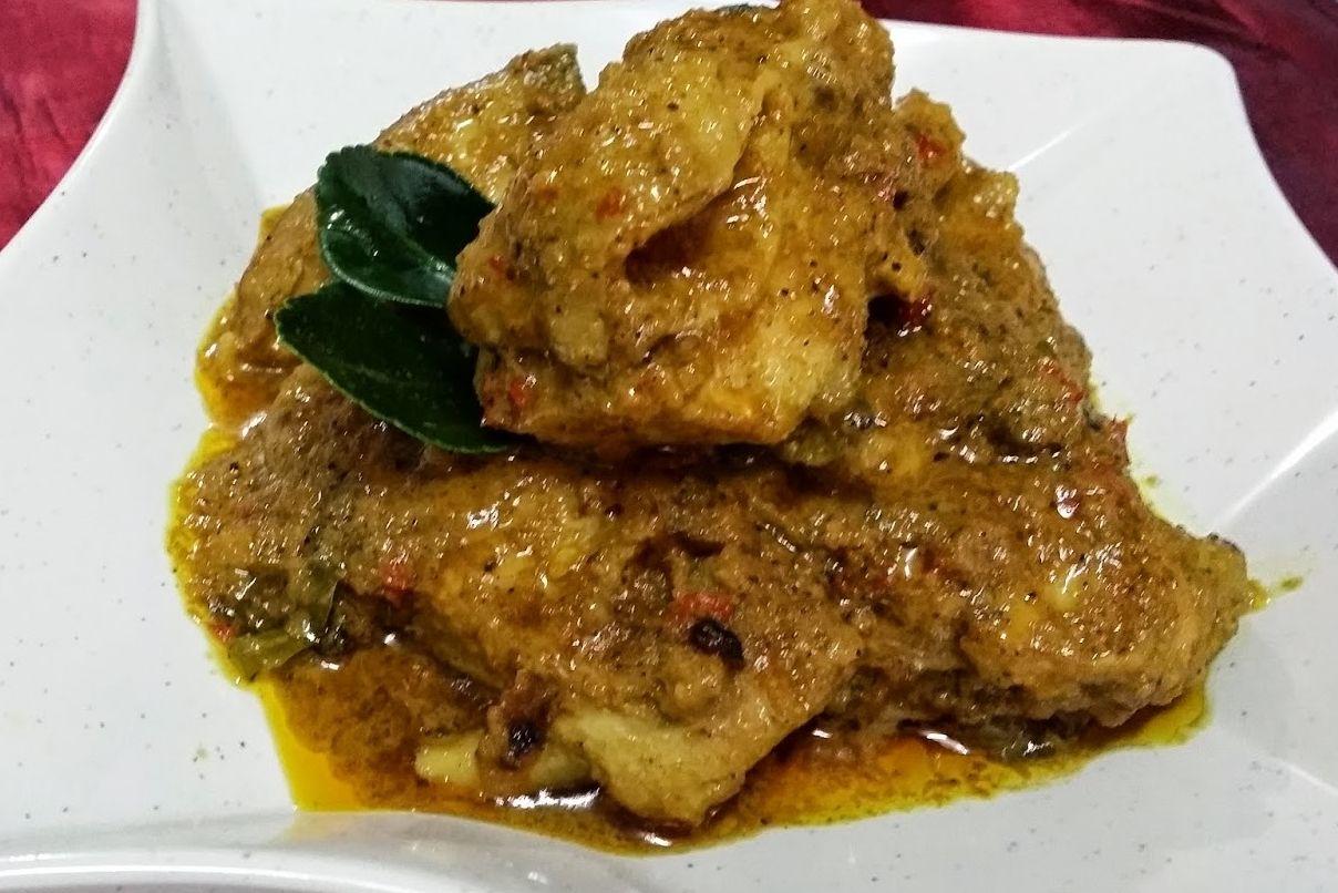 Resepi Rendang Ayam Minang Asli Sedap Makanan Resep Makanan Resep Masakan Asia
