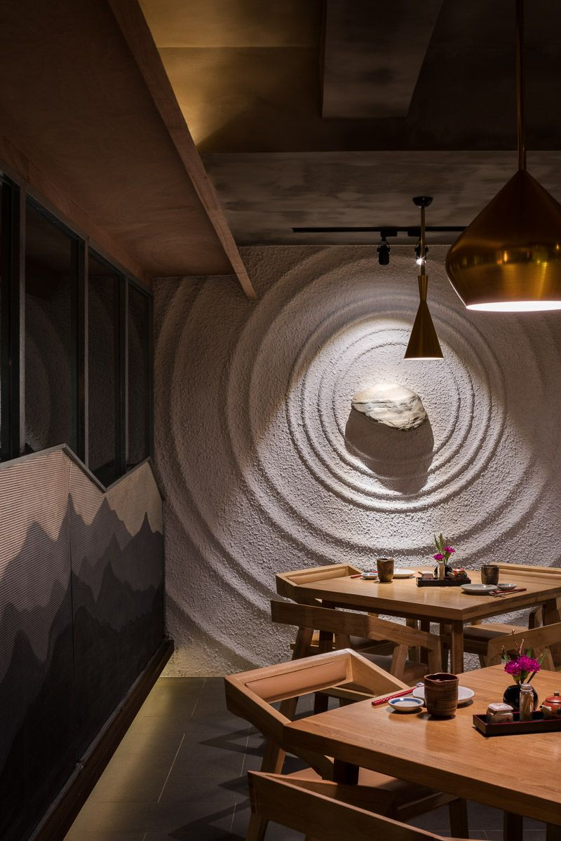 Sozo is a Japanese food restaurant in Chengdu China Designed by