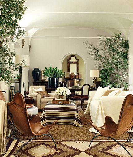 Southwest Interior Design Interior: Dry Set-Ralph Lauren Paints