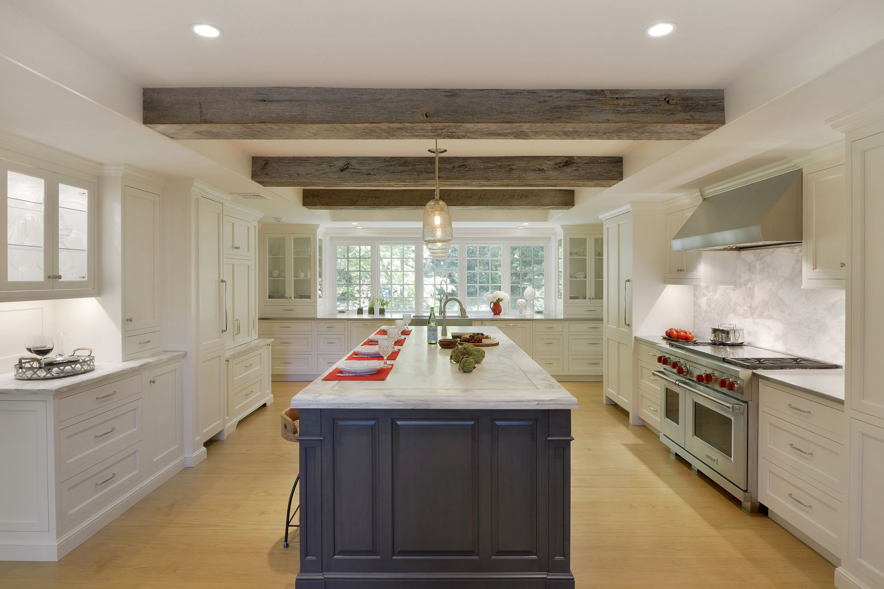 expansive kitchen with fully custom bilotta cabinets cabinet fronts rh pinterest com