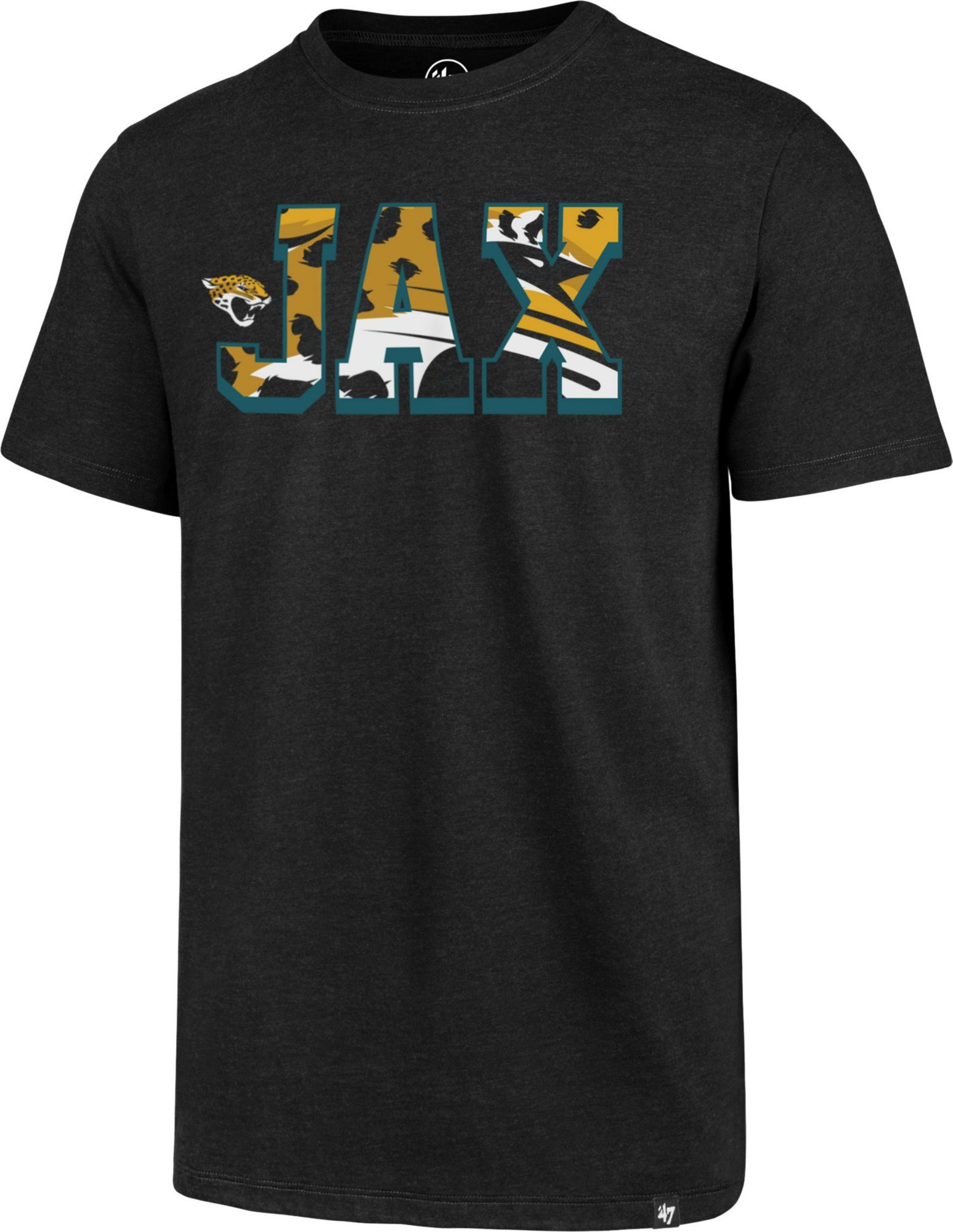 1717ede5 '47 Men's Jacksonville JAX Black T-Shirt, Size: Medium in 2019 ...