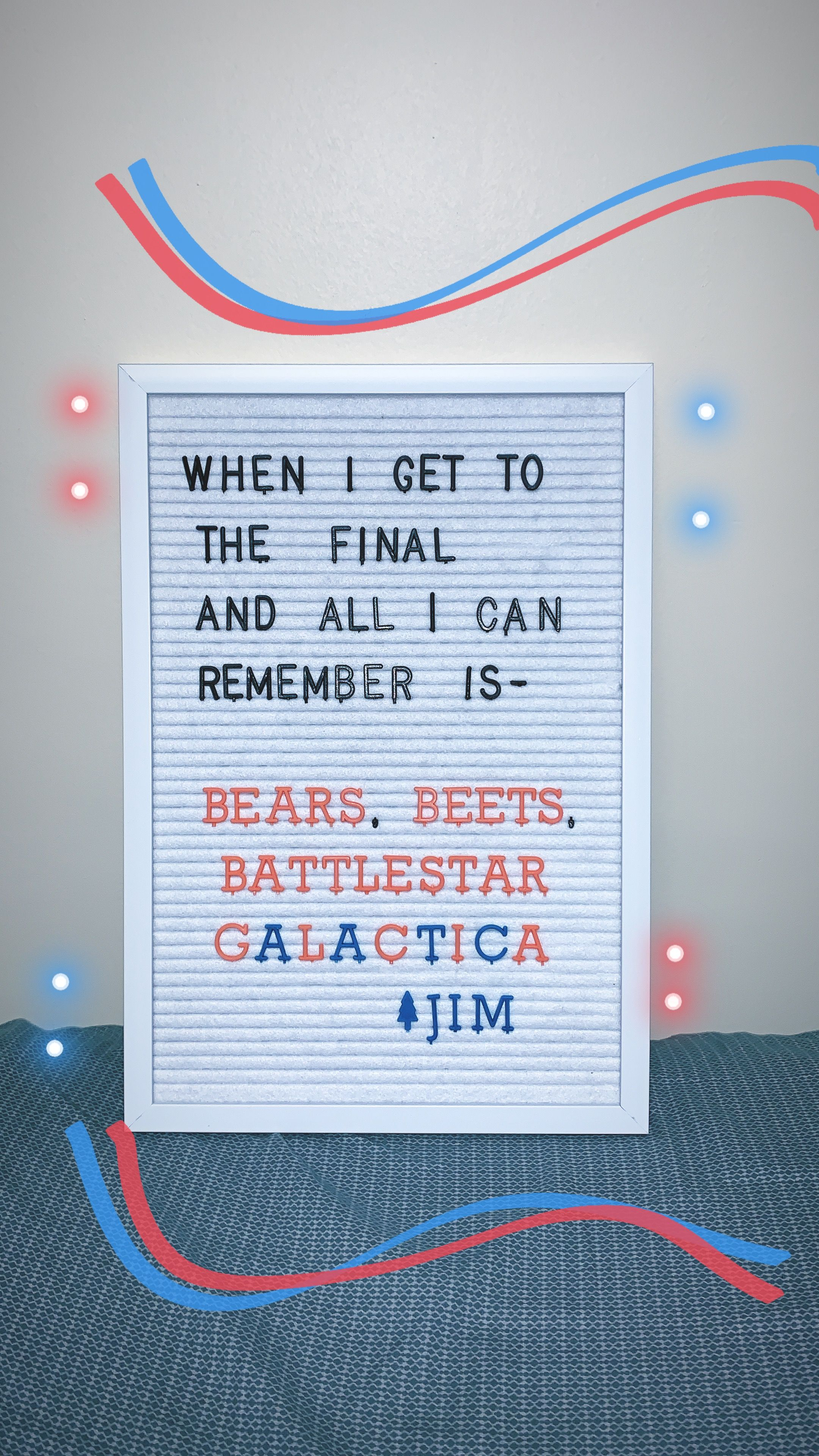 Office Finals Quote Finals Quote Letter Board Quotes