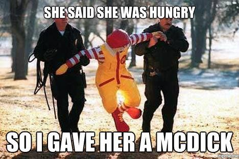 McDicks fo erryone!