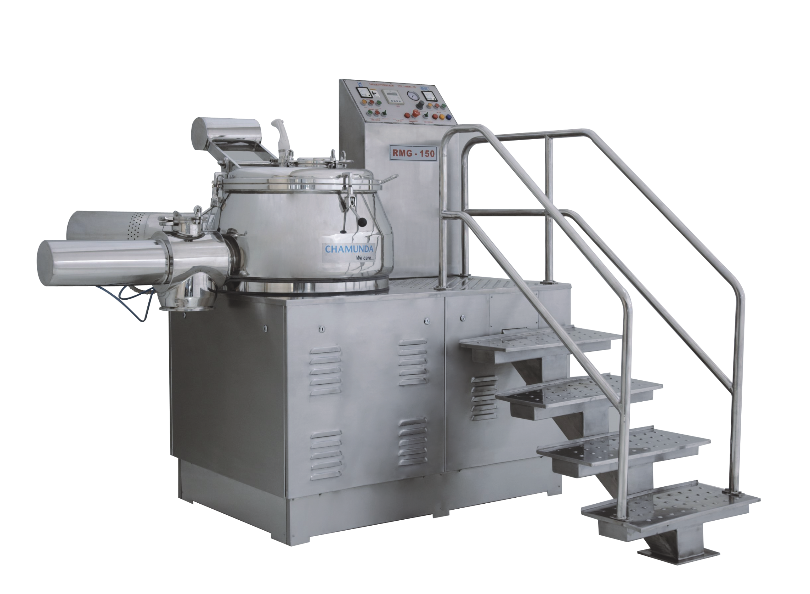 Process of High Shear Mixer Granulators | Process of High