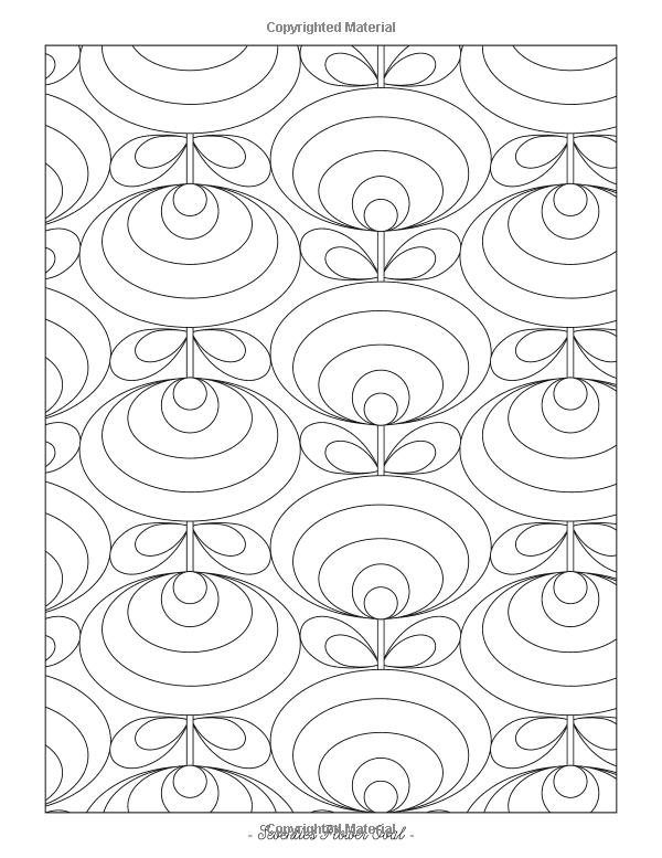 Orla Kiely Colouring Book Amazoncouk 9781840917338