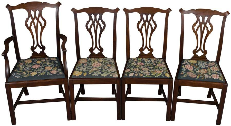 set of chippendale dining room chairs awesome antiques pinterest rh pinterest com