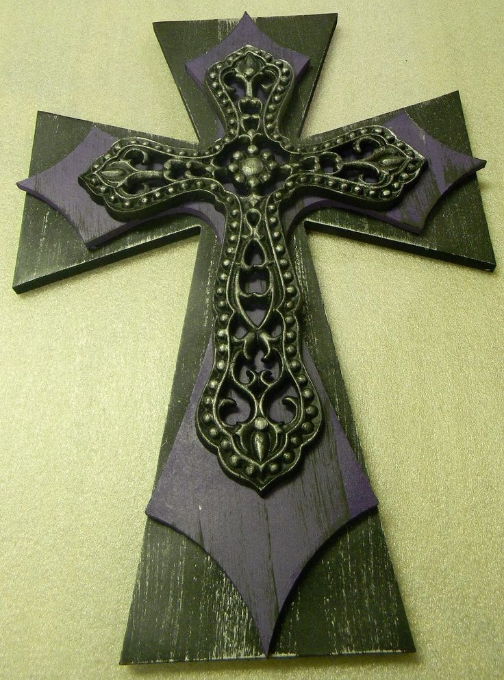 Decorative Wooden Wall Cross | ... crosses | Wooden Decorative ...
