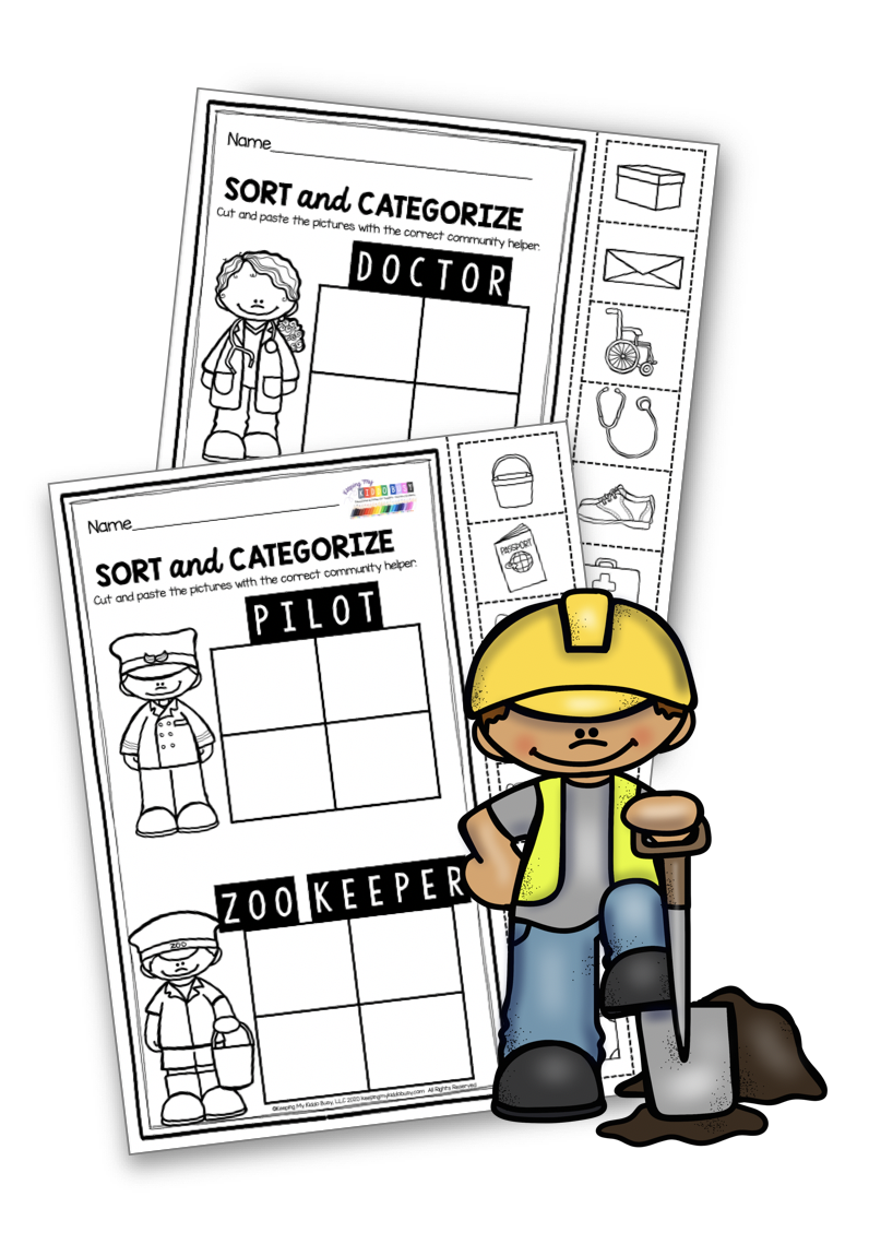 All About Me And My Community Freebies Keeping My Kiddo Busy Community Helpers Preschool Activities Community Helpers Worksheets Community Helpers Math [ 1150 x 796 Pixel ]