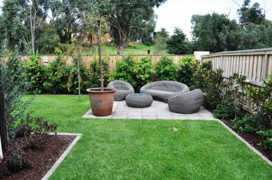 Whether You Have A Small Deck Or A Large Garden You Can Create A Nap Zone Outdoors Backyard Garden Layout Backyard Landscaping Designs New Build Garden Ideas
