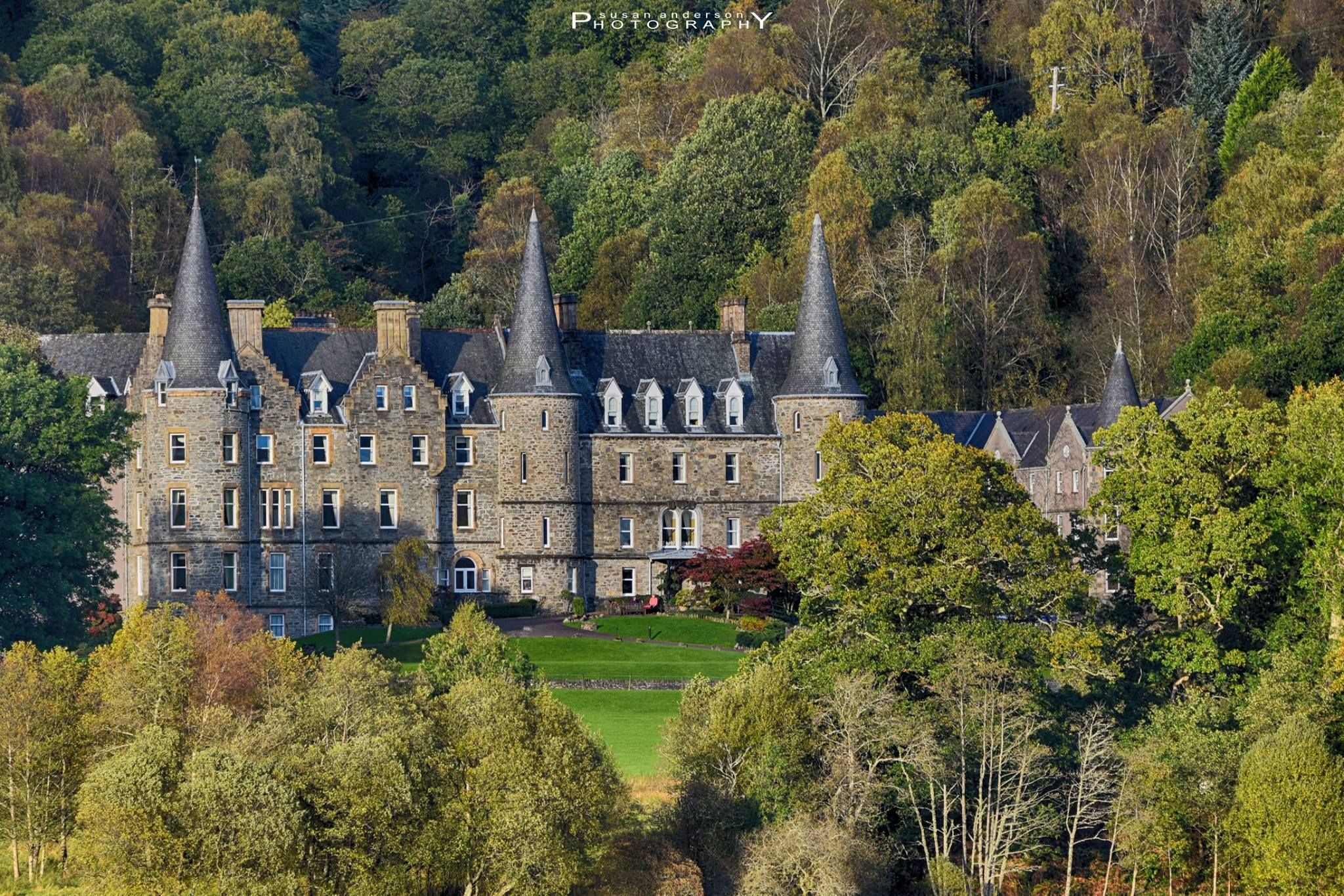 Tigh Mor Hotel On The Banks Of Loch Achray Trossachs