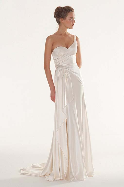 Wedding Dress, Old Hollywood Style Wedding Dress By Peter Langner ...