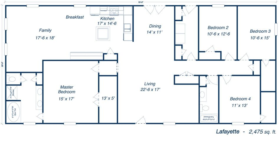 Metal 40x60 homes floor plans our steel home floor plans Metal pole barn homes plans