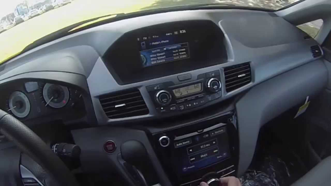 2015 Honda Odyssey EXL POV Review Honda odyssey, Honda