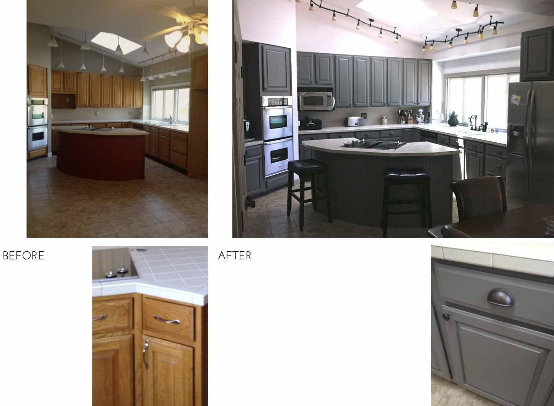 Kitchen Before And After Reveal Builder Grade Kitchen Kitchen Remodel Small Kitchen Design