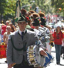 Von Steuben Day Parades American Irish American