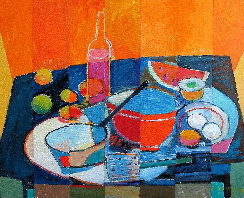 Kitchen Stuff - 24x30 Still Life Painting by Jim Flanagan - NUMA ...