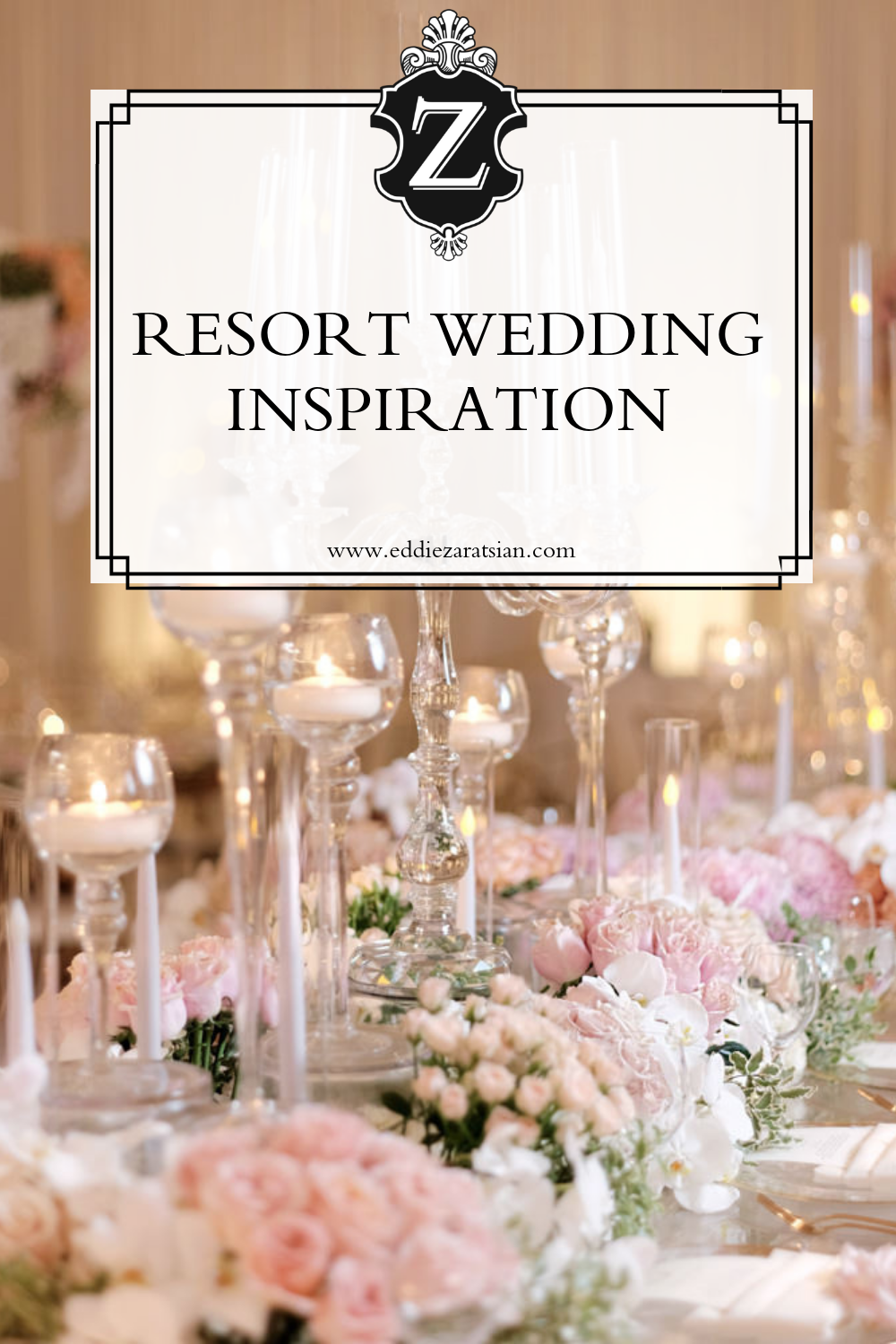 Beach Resort Wedding Inspiration This Tablescape Is Only One Of