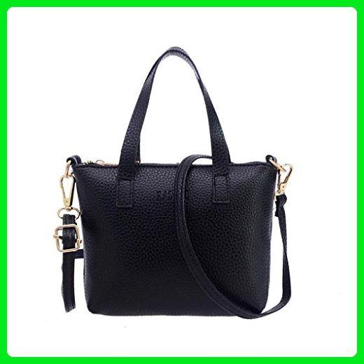 Removable Strap Handbag Rumas Women Shoulder Bag Large Tote Purse (black) - Shoulder  bags ( Amazon Partner-Link) 0489cbbb6091d