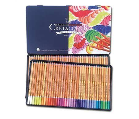 Amazon Com Cretacolor Fine Art Pastel Pencil Tin Set Of 72