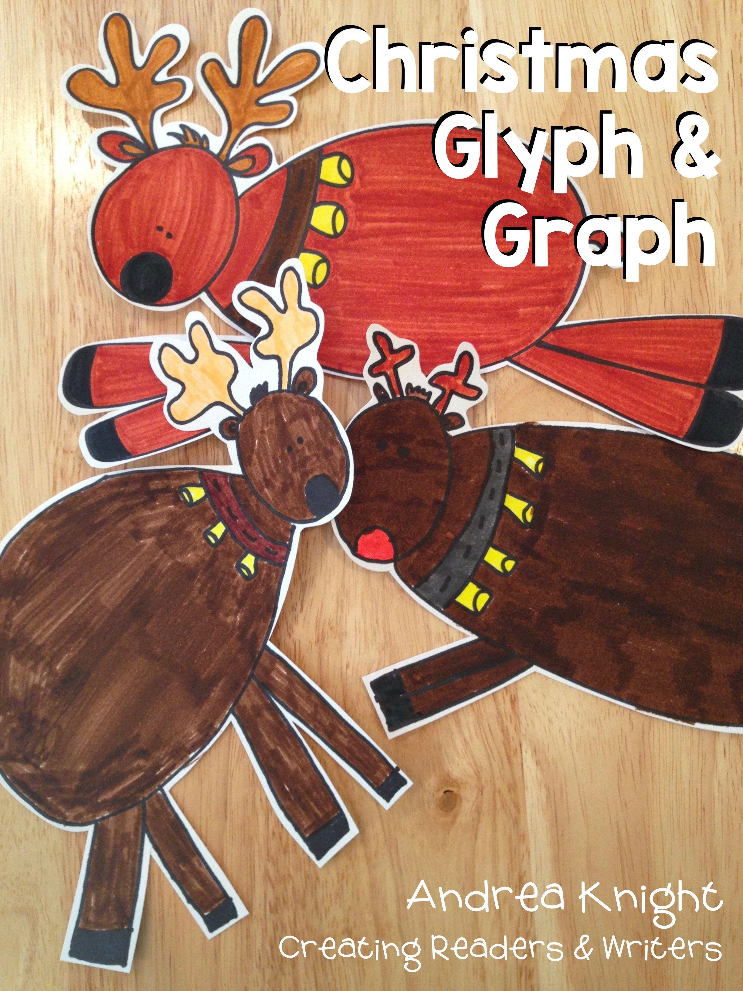 Rascally Reindeer A Glyph Amp Graph Math Activity For Christmas