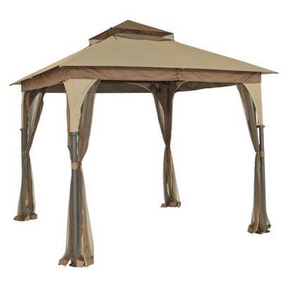 8 X 8 Gazebo With Mosquito Net Gazebo Replacement Canopy Gazebo Canopy Patio Gazebo
