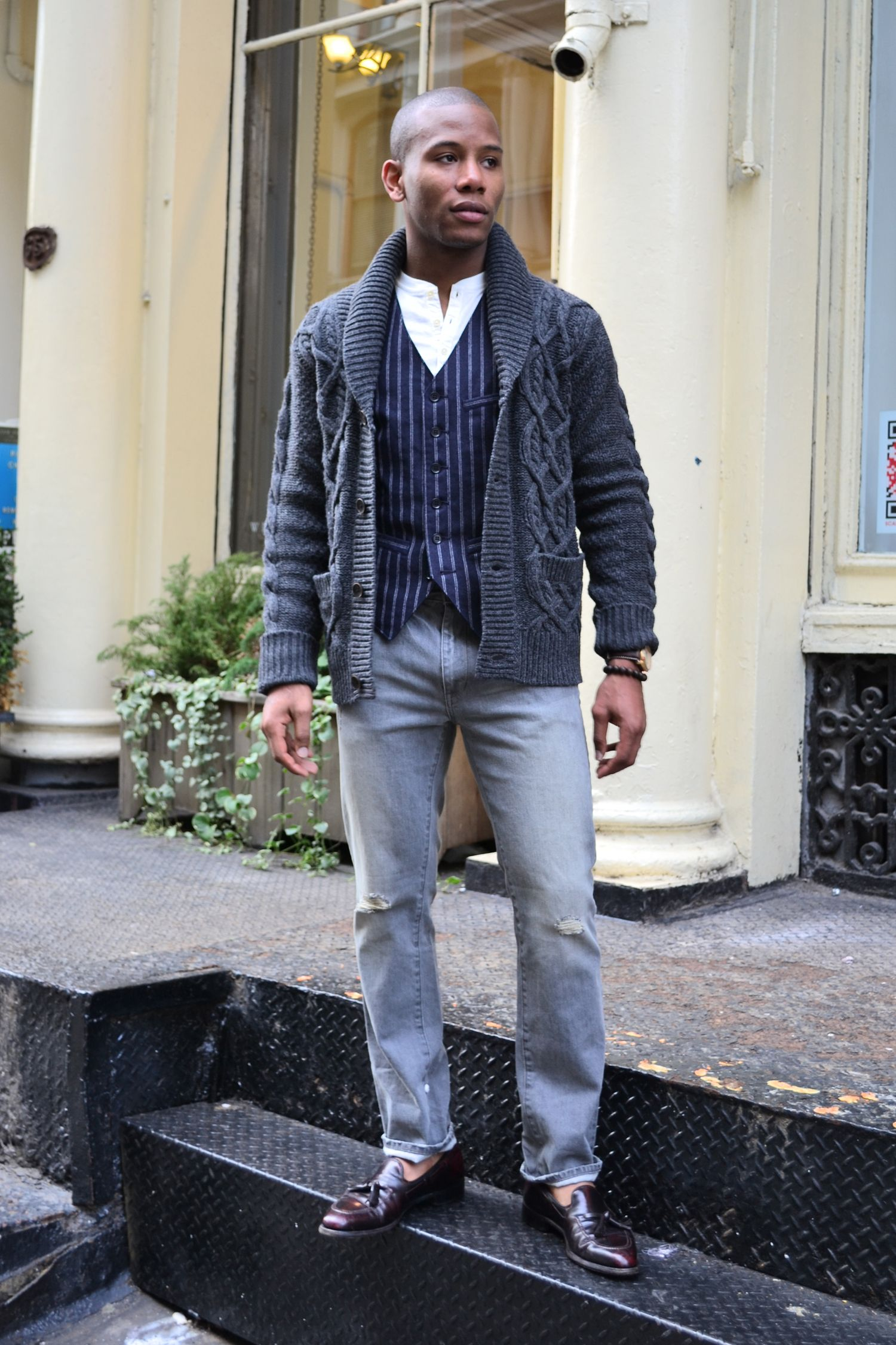 Looks - Fashion Winter men casual pictures video