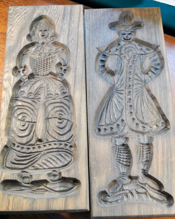 Handcarved wood block figures from Holland by kimple674250 on Etsy,